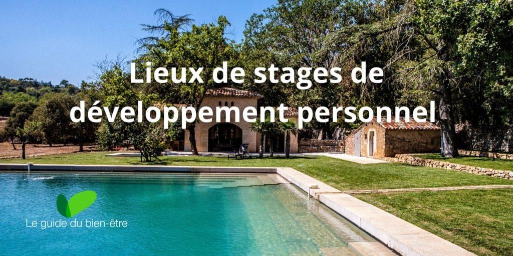 lieu de stage de développement personel et de bien-être
