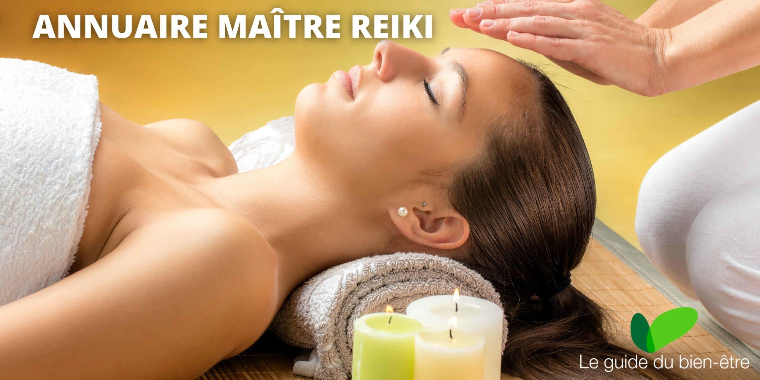 Annuaire maitre reiki, trouver un thérapeute proche de chez vous