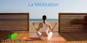 Pratique de la méditation face à la mer