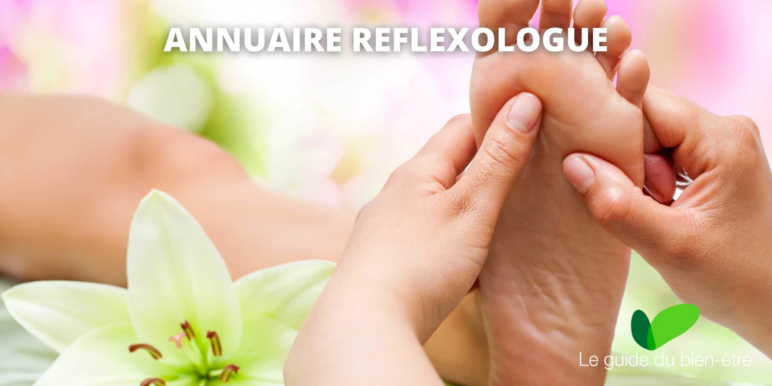 Annuaire réflexologue, trouver des praticiens en réflexologie proches de chez vous