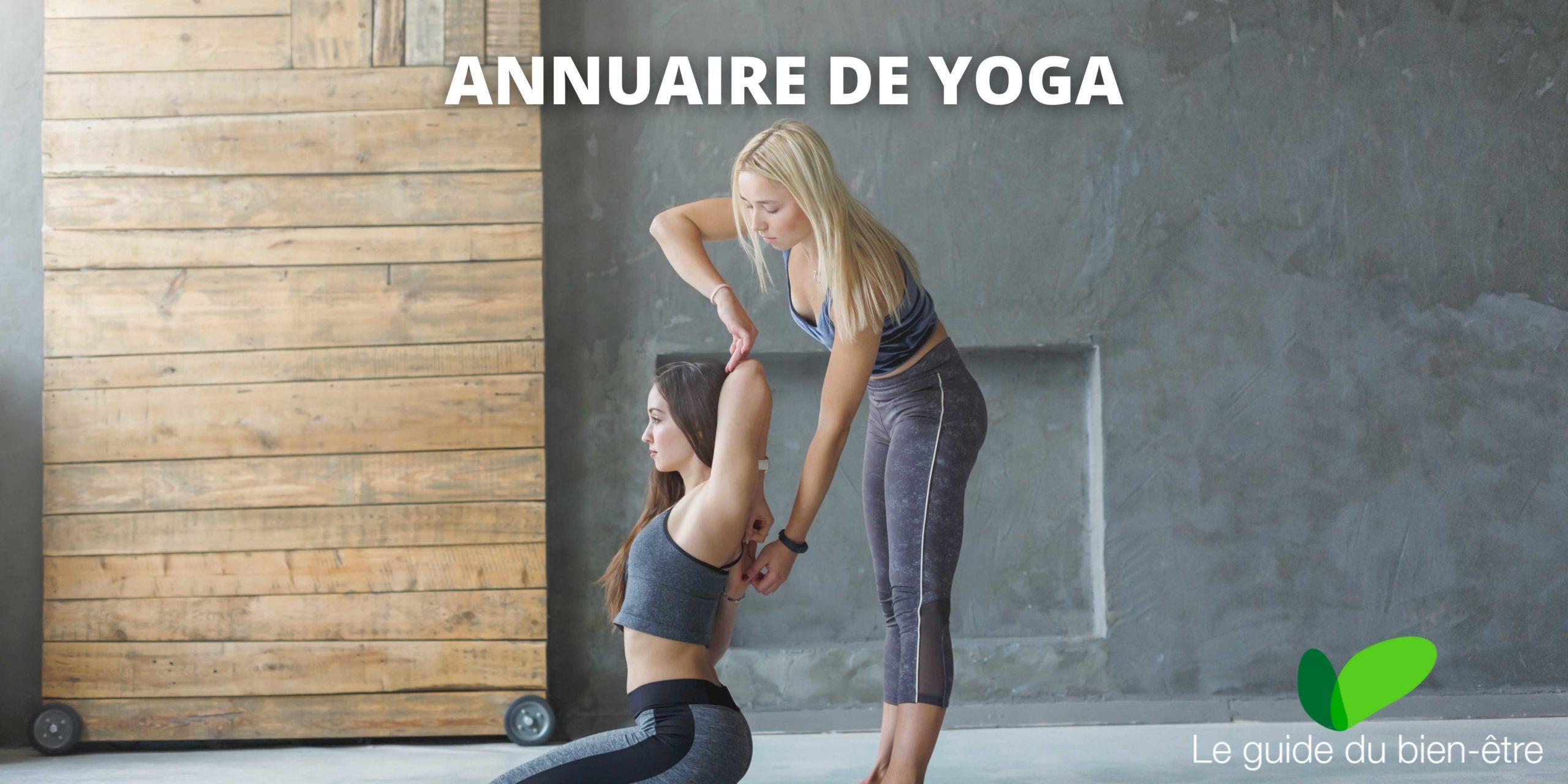 annuaire yoga, trouver des professeurs de yoga proches de chez vous